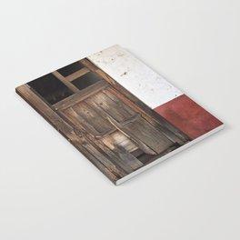 Collapsed Eronga Door Notebook