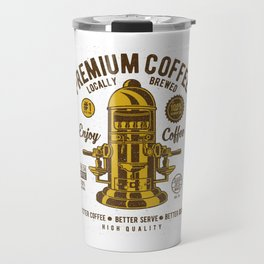 Classic Coffee Maker - Locally Brewed Travel Mug