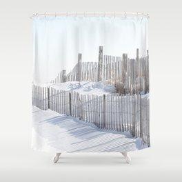 Rhode Island Snow 2015 Shower Curtain
