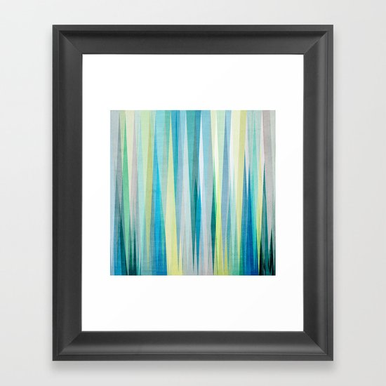 Nordic Combination 6 Framed Art Print
