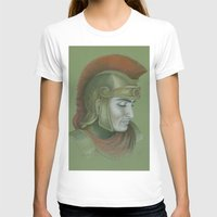 soldier T-shirts featuring Soldier by Jane Stradwick