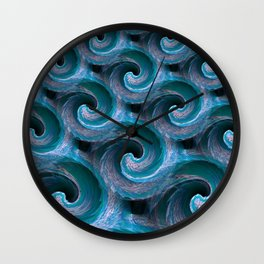 Waves 2 - Fractal Wall Clock