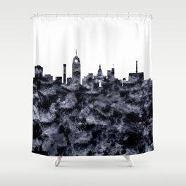 Lansing Skyline Michigan Shower Curtain