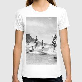 Vintage Hawaii Tandem Surfing T-shirt
