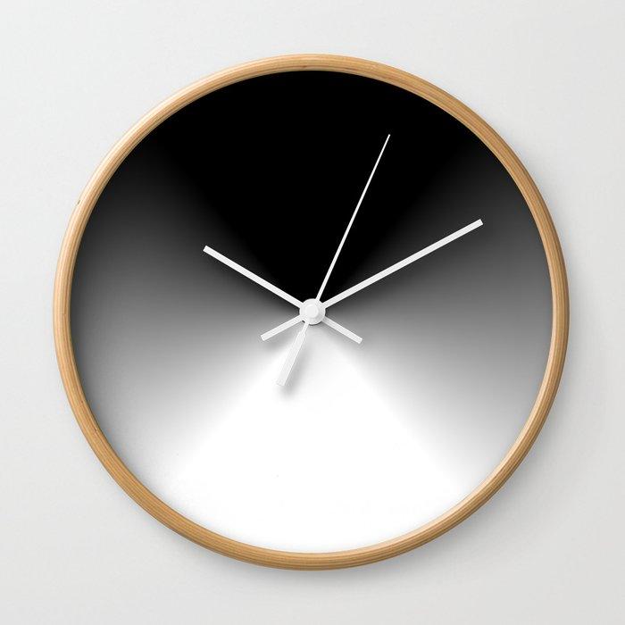 Dark and Light Burst Wall Clock