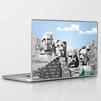 rushmore Laptop & iPad Skins featuring south dakota rocks by michael batista