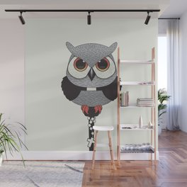 Exorcist Owl Priest Wall Mural