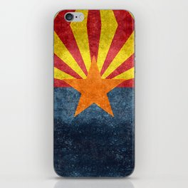 State flag of Arizona, the 48th state iPhone Skin