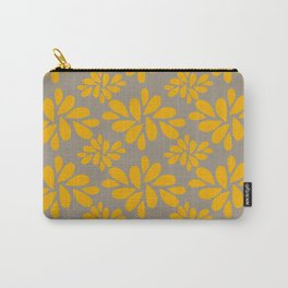 Golden Petals Carry-All Pouch