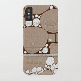 Rock Blueprint iPhone Case