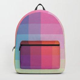 "Pastel Genuine Geometric ""Troll"" Backpack"