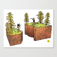 The Abyss Canvas Print