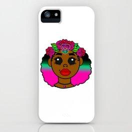 Kawaii Sankofa Goddess iPhone Case