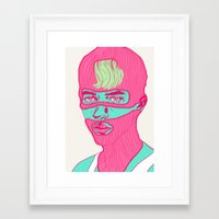 freedom Framed Art Prints featuring Freedom by Vanessa Neves