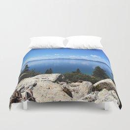 Lake Tahoe, Nevada Duvet Cover