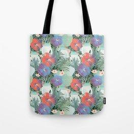 frog garden Tote Bag