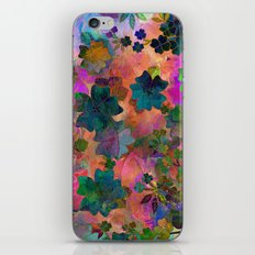 Fragrant Summer Field iPhone & iPod Skin