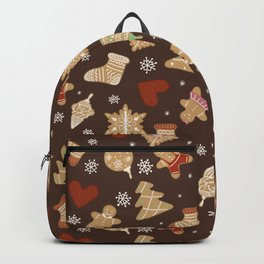 Gingerbread figures Backpack