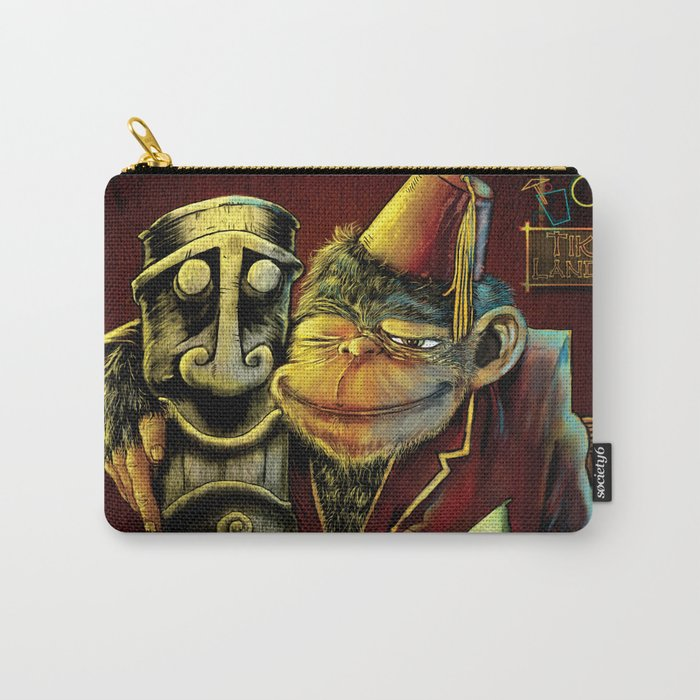 Last Call At Tikilandia Carry-All Pouch