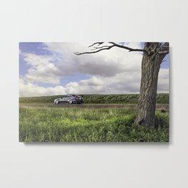 2012 Subaru Sti Metal Print