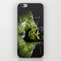 targaryen iPhone & iPod Skins featuring Angry HULK  by bimorecreative