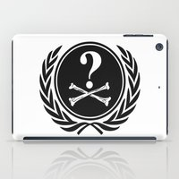 community iPad Cases featuring Anonymous community by Komrod