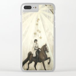 Star Horse Clear iPhone Case