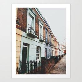 Gloomy Day In Camden Art Print