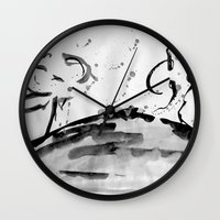 running Wall Clocks featuring Running by Som Somni