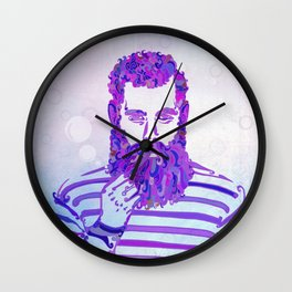 Sea Wolf Ghost Wall Clock