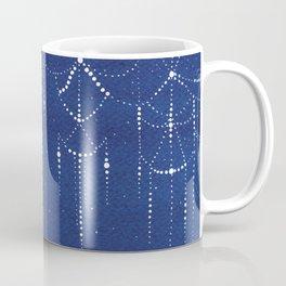 Garland of stars, sailboat Coffee Mug