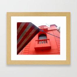 Red Pub (Bar Vermelho) Framed Art Print