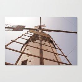 Windmill on Fuerteventura Canvas Print