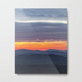 subtle sunrise Metal Print