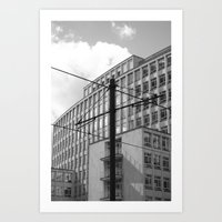 the wire Art Prints featuring wire by Mylo Photography