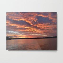 Sunset Tasmania Metal Print