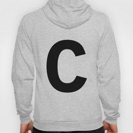 Letter C (Black & White) Hoody