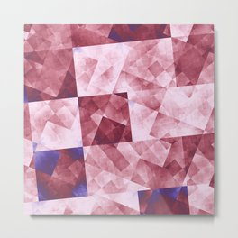 Raw Grid in DPA 01 Metal Print