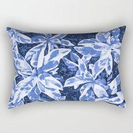 Aloha Blue Rectangular Pillow
