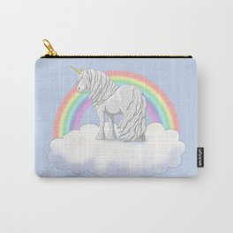 Rainbow Unicorn Gypsy Vanner Draft Horse Carry-All Pouch