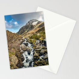 Tryfan and Ogwen Falls Stationery Cards