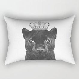 The King Panther Rectangular Pillow