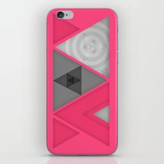 Optical illusion iPhone & iPod Skin