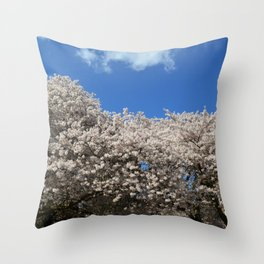 Seattle Bloom Throw Pillow