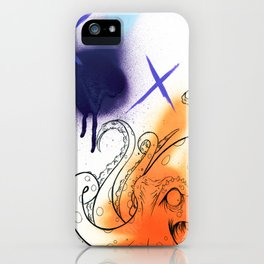 Octopus iPhone Case