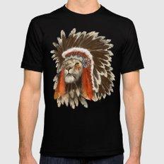 Lion Chief Mens Fitted Tee Black MEDIUM