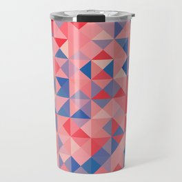 colorful Triangles 1 Travel Mug