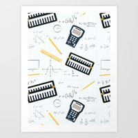 math Art Prints featuring Math by S. Vaeth