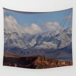 Desert Snow on Christmas - II Wall Tapestry