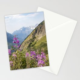 Mountain Blossoms Stationery Cards
